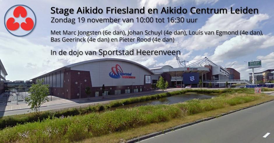 Stage Aikido Friesland en Aikido Leiden